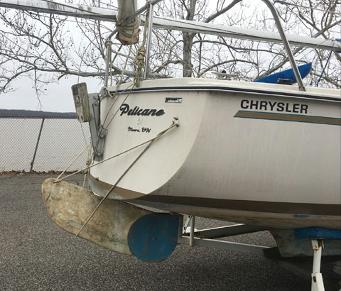 Chrysler 20, 1979 sailboat