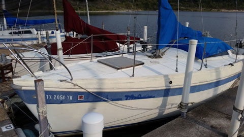 Columbia 26 MK2, 1972 sailboat
