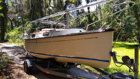 Com-Pac Eclipse, 21 ft., 2004 sailboat