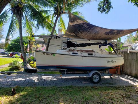 Com-Pac Eclipse, 21 ft,, 2004 sailboat