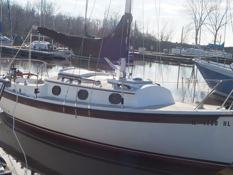 Compac 23/3, 1992 sailboat