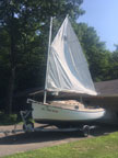 2002 ComPac Sun Cat sailboat