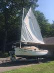2002 ComPac Sun Cat sailboat