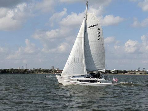 Condor 30 trimaran, 1989 sailboat