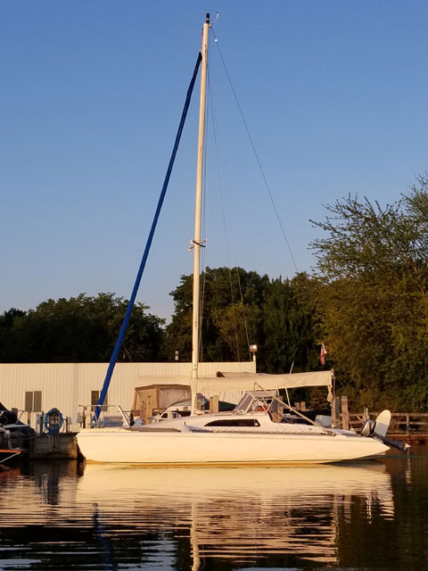 Corsair f24 mark 1 trimaran, 1992 sailboat