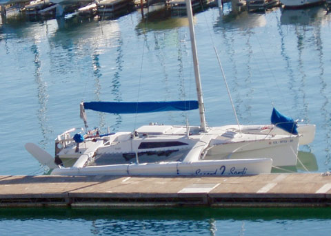 Corsair F-27, 1992 sailboat