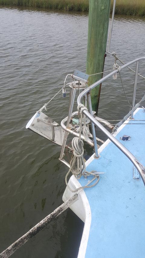Cross Trimaran, 35 ft., 1984, sailboat