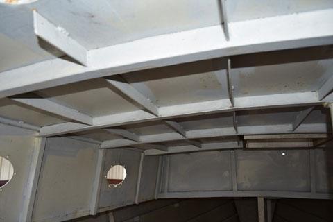 40 foot steel hull project sailboat