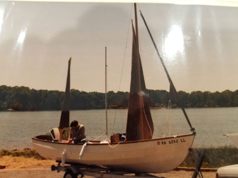 Drascombe Day Sailer, 1984 sailboat