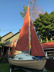 1984 Drascombe Coaster sailboat