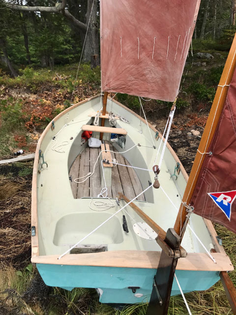 Drascombe Dabber 16ft., 1976 sailboat