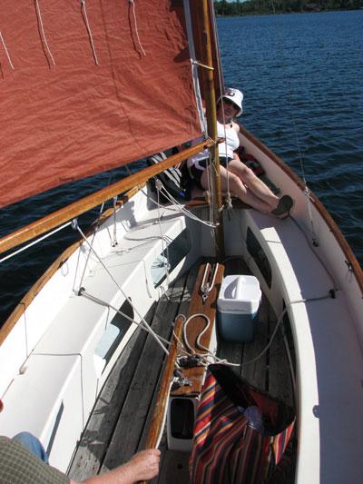 Drascombe Lugger, 1978 sailboat