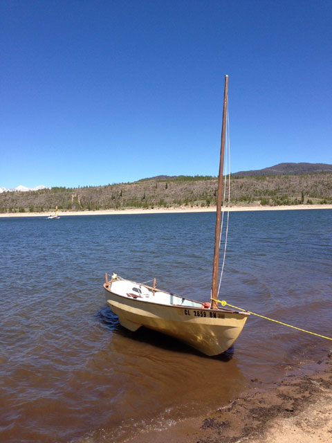 Drascombe Scaffie, 1981 sailboat