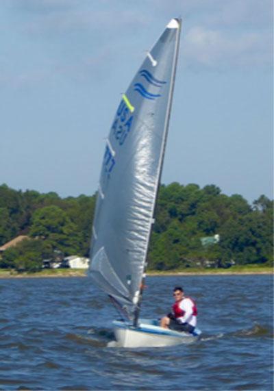 Lemieux Finn, 2007 sailboat