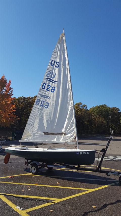 Finn, 1967 sailboat