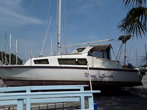 Gemini 3000 catamaran, 1986 sailboat