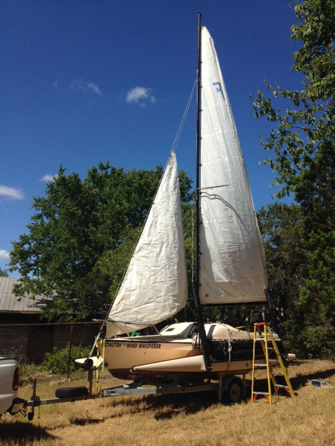 Haines Hunter 'Super' Trimaran, 1982 sailboat