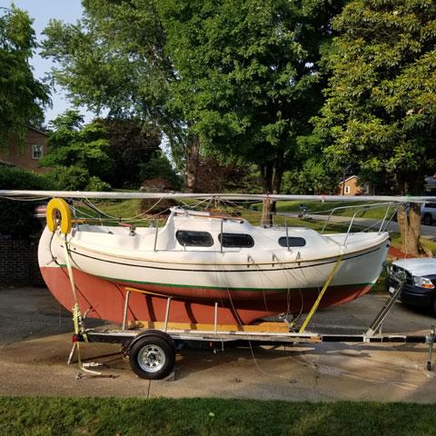 Hallman 20 1978 sailboat