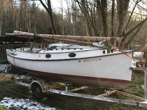 Herreshoff America 18, 1979 sailboat