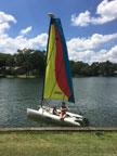 2005 Hobie Bravo sailboat