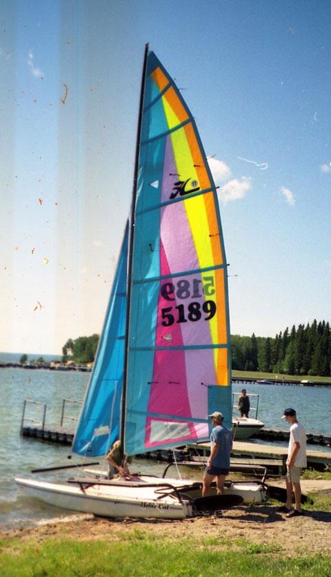 Hobie 17 Sport, 2001 sailboat