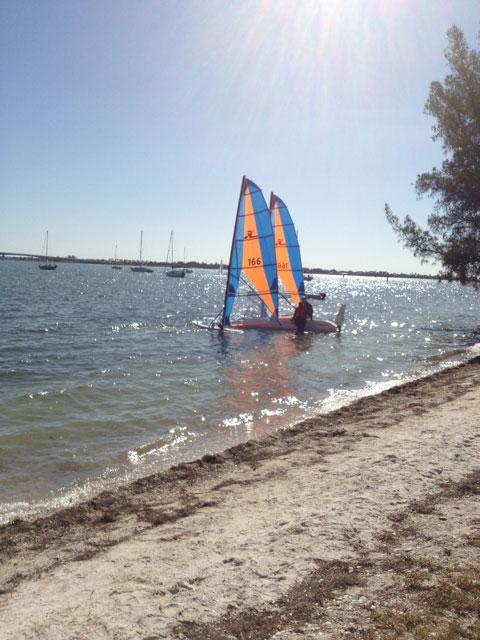 Hobie Trifoiler 19', 1994 sailboat