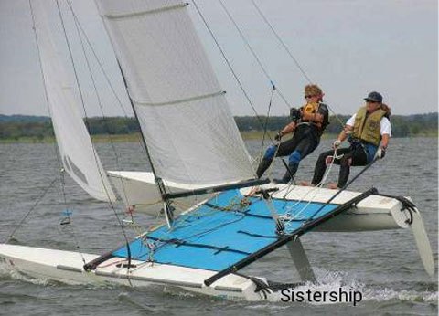Hobie 20 sailboat