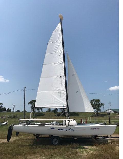 Hobie 21 SC, 1995 sailboat