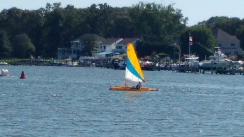 Hobie Adventure Island Sailing Kayak, 2016 sailboat