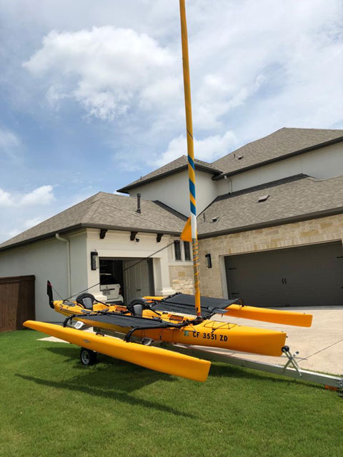 Hobie Mirage Tandem Island, 2013 sailboat