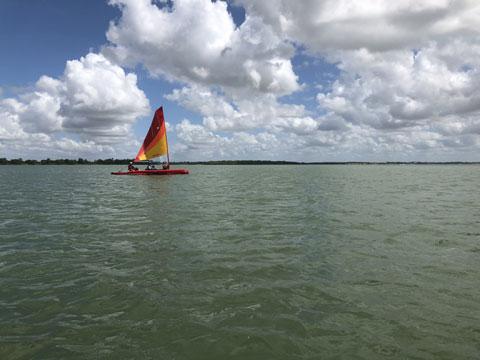 Hobie Mirage Tandem Island, 2017 sailboat