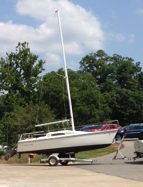 Hunter 23, 1986 sailboat