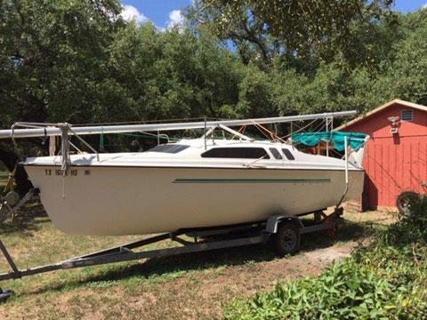 Hunter 23.5, 1993, sailboat