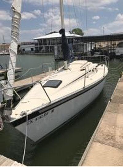Hunter 25.5, 1984 sailboat