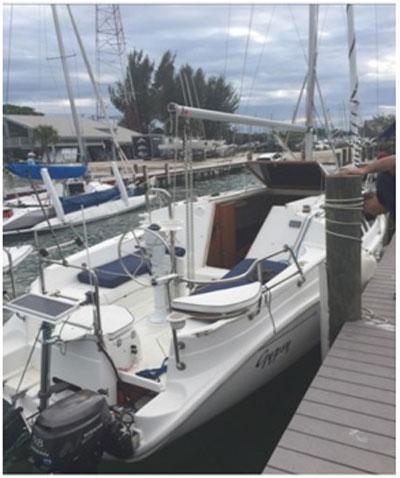 Hunter 260, 2005, sailboat