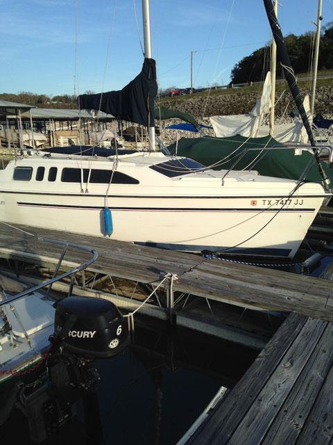 Hunter 26, 1996 sailboat