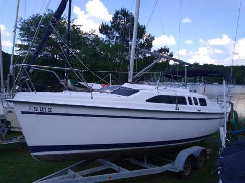 Hunter 26, 1995, sailboat