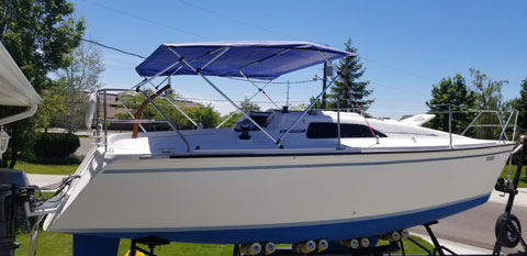 Hunter 26.5, 1987 sailboat