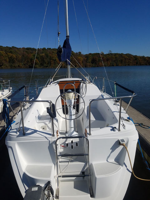 Hunter 27 1992 Missouri Sailboat For Sale From Sailing Texas