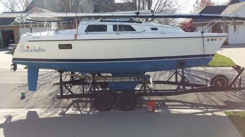 Hunter 27, 1992 sailboat