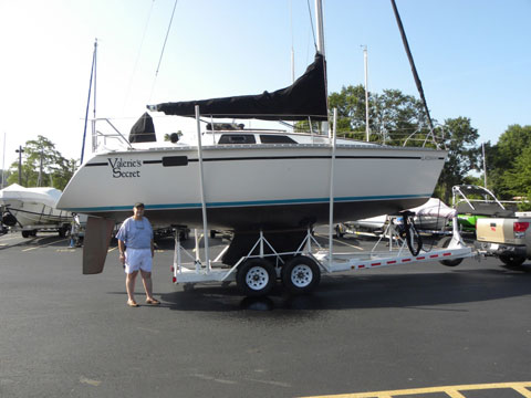 Hunter 30T Tall Mast Sloop, 1990 sailboat