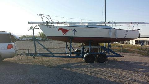 J-24, 1982 sailboat