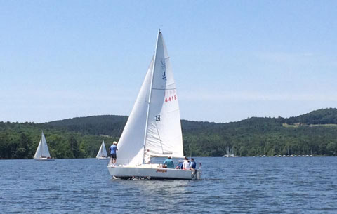 Johnstone J24, 1988 sailboat