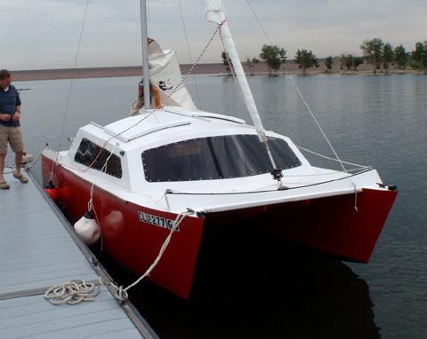 JarCat 6, Catamaran 19 ft. 2016 sailboat