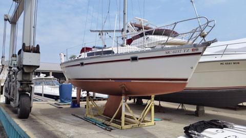 Jeanneau Sun Light 30, 1987 sailboat