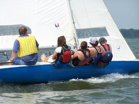 Johnson E-Scow, 1979 sailboat