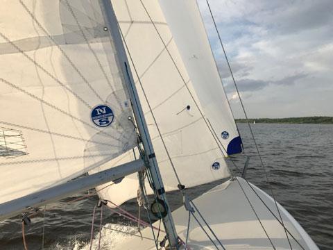 Johnson 18 #153 sailboat