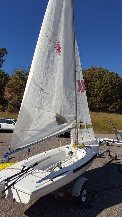 Laser 2, 2004, sailboat