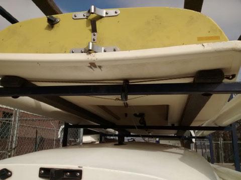 3 Lasers, 1974-9 sailboat