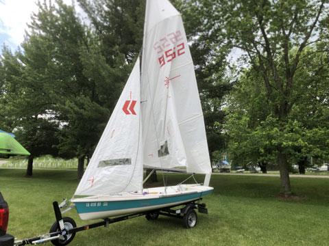 Laser 2, 1994 sailboat